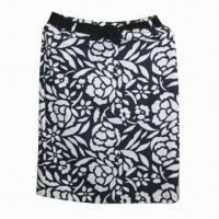 China Printed Linen Women's Skirts wholesale