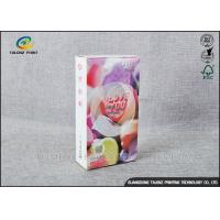 China Embossing Paper Cosmetic Packaging Boxes CMKY Pantone Printing OEM Accepted wholesale