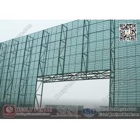 China 11.5M High X 5.0m Width Steel Wind Breaker Fencing Wall (China Wind Fence Exporter) wholesale