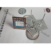 China Perforated Base Insulation Fixing Pins For Reinforceing Sound Absorbing Fabrics wholesale