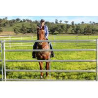 Buy cheap HEAVY Duty 18 Round Yard horse fence panels Outdoor Animal Enclosure with Gate from wholesalers
