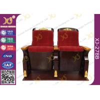 China Fire Retardant Commercial Fabric Auditorium Theater Seating / Concert Hall Chairs wholesale