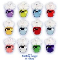 China new 24 piece jingle buddies breast cancer awarenes christmas ornament pinset wholesale