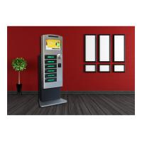 China Coin Operated Mobile Phone Charging Station , Cell Phone Chager Lockers 6 Digital Lockers wholesale