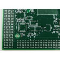 Buy cheap Professionl Oem HDI Printed Circuit Boards Green & White Soldmask from wholesalers