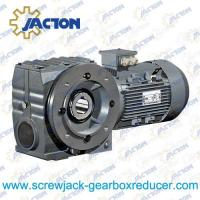China 2HP 1.5KW helical-worm transmission gearbox industry reducer gear box Specifications wholesale
