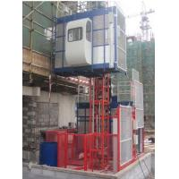 China 1000kg Twin Cage Construction Hoist Elevator for Building Material on sale