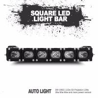 China Christmas gift factory directly sale new square led light bar universal fitting wholesale