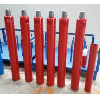 China 6 Inch Ql60 Down Hole Hammer Faster Drilling Speed With Low Air / Oil Consumption on sale