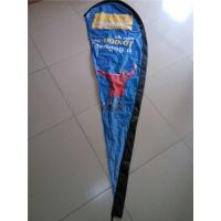 Quality Custom Teardrop Banners Advertising , Tear Drop Banners High Strength Fiberglass Pole for sale
