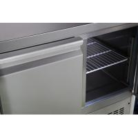 Air Cooling Commercial Drawer Refrigerator Auto Closing 3 Door Commercial Fridge