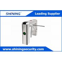 China Card Reading Tripod Turnstile Gate / Half Height Turnstile For Office Visitor Management wholesale