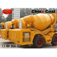 China 2.5 cbm mixer truck Road Construction Machinery self loading concrete mixer on sale