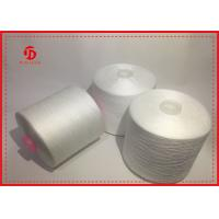 Paper / Plastic Cone Spun Polyester Yarn For Sewing , Ployster Staple Fiber Yarn
