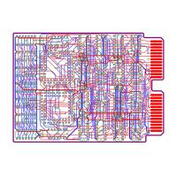 Prototype Flexible Circuit FPC PCB Layout Design Services For Elevator / Heater