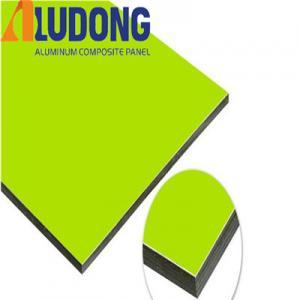 China PVDF Coating 5mm Aluminium Composite Sheet Fireproof A2 wholesale