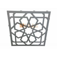 China 3mm / 4mm Hollow Carved Cutting Aluminum Sheet Facade 1220x2440mm wholesale