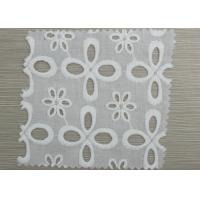 China Custom Decorative Elastic Eyelet Gathered Lace Trim Embroidery Lace Fabric wholesale