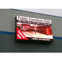 China P10 Outdoor Full Color Led Display , Commercial Advertising LED Display IP65 on sale