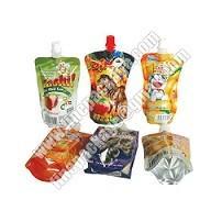 China juice packaging bags, juice drink spout pouch bag, liquid packaging plastic bag with spout wholesale