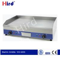 China CE Best griddle Electric griller Portable griddle hot plate 6mm thick All flat WG-600S on sale