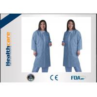 China Waterproof medical student lab coat, disposable lab jacketsFor Doctors Zip Closure on sale