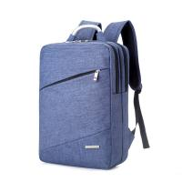 China 17 Inch Womens / Men Business Laptop Backpack Oxford Cloth With Metal Handle wholesale