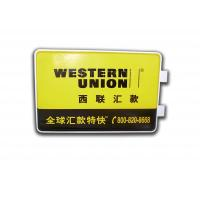 China Rectangle Light Box With Wall Mounting Brackets , LED Outdoor Advertising Light Box wholesale