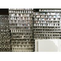 China PVDF Coating Aluminum Honeycomb Board Mill Finished For Cladding Wall Decoration wholesale