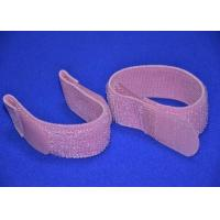 China Colored Elastic Hook And Loop Strap 2 Inch With Silk Screen Logo wholesale