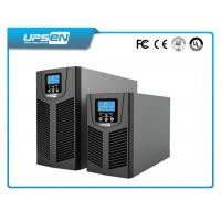 China High Frequency Solar Online UPS Power System with IGBT Tech and Large LCD Display wholesale