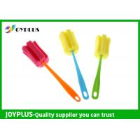 China Multi Colors Home Cleaning Tool Bottle Sponge Brush OEM / ODM Available wholesale
