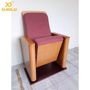 China Customized Molded Foam Plywood Auditorium Chairs Powder Coating Flame Retardant wholesale