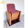 Buy cheap Customized Molded Foam Plywood Auditorium Chairs Powder Coating Flame Retardant from wholesalers