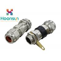 China Nickel Plated Brass BDM Explosion Proof Cable Gland , GRP Metal Cable Gland wholesale