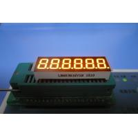 China 7 Segment LED Display 0.36 inch Ultra Bright Amber for Electronic Scales wholesale