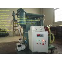 China Transformer oil purifier / Dielectric oil filtration ZY-100 on sale