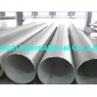 China High Temperature Chromium NickelAlloy Tube A358 / A358M Welded Stainless Steel Pipe wholesale