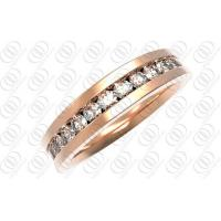China China Fashion Women Rose Gold Plated Custom Engagement Jewelry Stainless Steel Wedding Ring For Girl wholesale