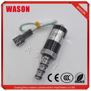 China VOLVO Kobelco Spare Parts Hydraulic Pump Solenoid Valve For KDRDE5K20 40C04109 SKX5P17209 on sale