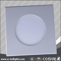 China advertising 6w round led backlight panel light on sale