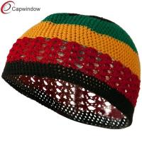 China Breathable Colorful mens winter hats , Cotton Soft Kufi Cap wholesale