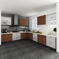 Custom painting white melamine kitchen cabinets spray for Kitchen cabinets kenya