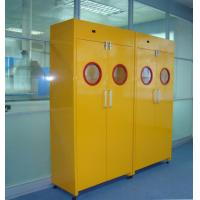 China Safety All Steel 900L Poisonous Gas Cylinder Storage Cabinet With Alarm System wholesale