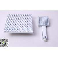China Water Saving Shower Head Sets ,Stainless Steel Panel Massaging Shower Head For Women wholesale