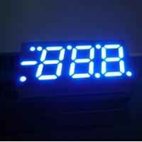 China Blue / Red / Green 0.52 Inch 3 Digit Seven Segment LED Display For Heating and Cooling wholesale