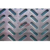 China 3-55mm Diameter Shape Exterior Metal Wall Panels Punched By CNC Machine wholesale