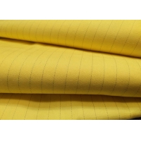 China Industrial Workwear 128*60 Flameproof Anti Static Polyester Fabric wholesale