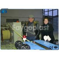 China 4~100mm PVC Single Wall Corrugated Pipe Making Machine Single / Double Screw Extruder wholesale