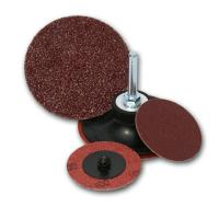 China Red color abrasive Fiber Disc with Cross Center wholesale